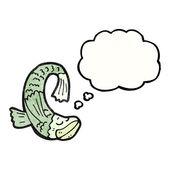 Talking fish — Stock Vector