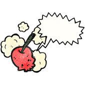 Lebka cherry — Stock vektor