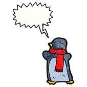 Penguin — Stock Vector