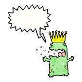 Grodprinsen — Stockvektor
