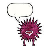 Spiky creature — Stock Vector