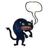 Upiorny potwór — Wektor stockowy