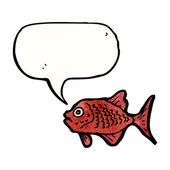 赤い魚 — ストックベクタ