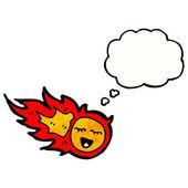 Fireball — Stock Vector