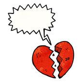 Резкое сердце — Cтоковый вектор