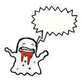 Shrieking ghost — Vetor de Stock