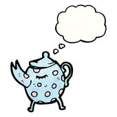 Pot de thé — Vecteur