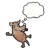 Lustige Hund — Stockvektor