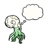 鹦鹉螺鱿鱼 — 图库矢量图片