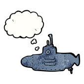 Okręt podwodny — Wektor stockowy