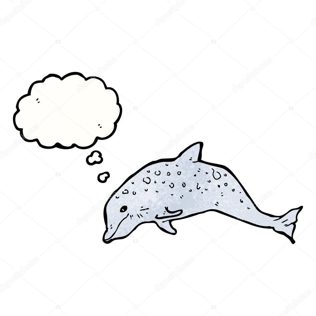 海豚手绘简笔画