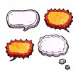 Speech bubble collection — Stock Vector