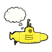 Yellow submarine — Stock Vector