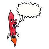 сумасшедший ракеты — Cтоковый вектор