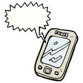 Touchscreen-handy — Stockvektor