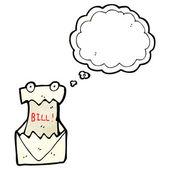Bill — Stock vektor