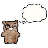 Urso sonolento — Vetor de Stock