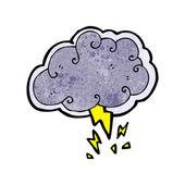 Thundercloud — Stock Vector