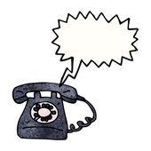 レトロな鳴っている電話 — ストックベクタ
