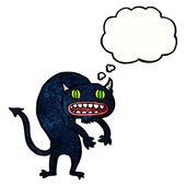 Spooky monster — Stock Vector