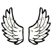 Ailes d'ange — Vecteur