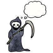 Death with scythe — Stock Vector