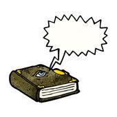 Magische spreuk boek — Stockvector