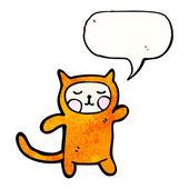 Odd cat costume — Stock Vector