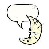 Crescent moon — Stock Vector