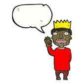 Prince prenant serment — Vecteur