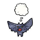 Spooky bat — Stock Vector