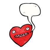 Simbolo cuore felice — Vettoriale Stock