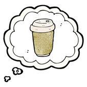 Coffee craving — Stock Vector