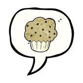 Muffin symbol — Stock Vector