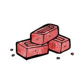 Bricks — Stock Vector