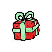 Regalo de navidad — Vector de stock