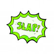 Slap symbol — Stock Vector