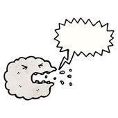 Raincloud espirros — Vetor de Stock