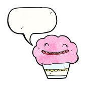 蛋糕与语音泡沫 — 图库矢量图片