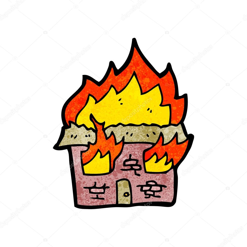 clipart burning house - photo #35