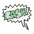 Shout for cash — Stock Vector