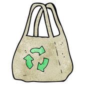 Reusable bag — Stock Vector
