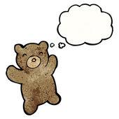 Teddy bear — Vector de stock