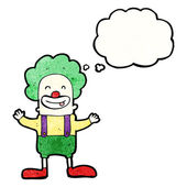 Cirkus clown — Stockvektor