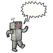Tanec robota — Stock vektor