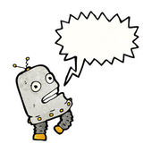 Little robot — Stock Vector