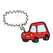 Honking car — Stock Vector
