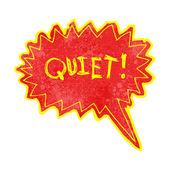 Crier pour la tranquillité — Vecteur