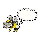 Bumble bee — Stock Vector