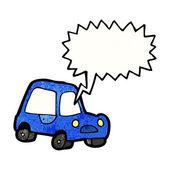 Car honking horn — Stock Vector